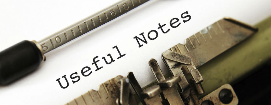 Useful Notes